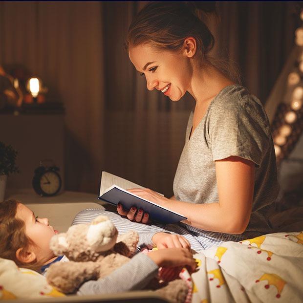 Mama leest opnieuw voor