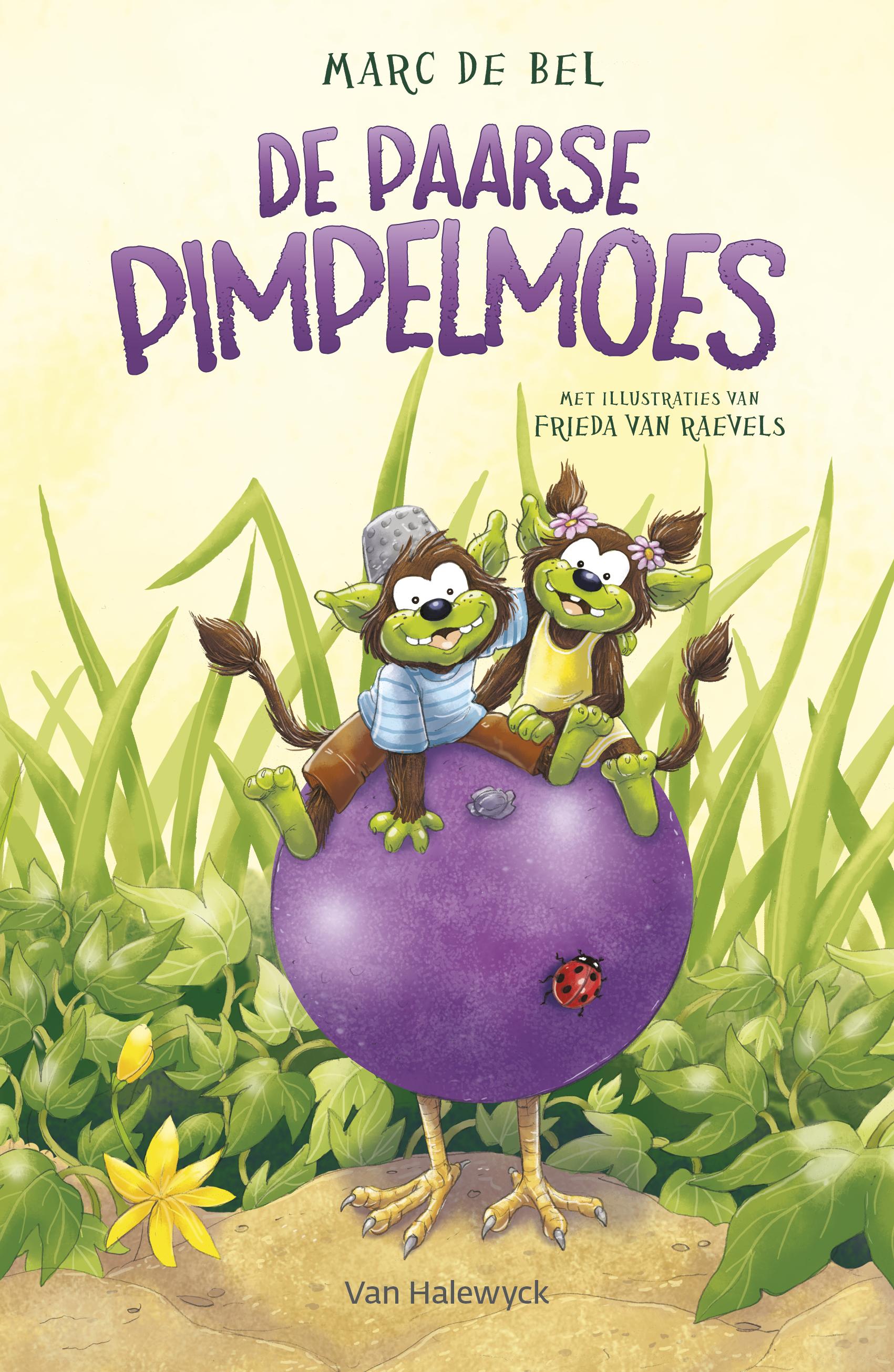 De paarse pimpelmoes - Marc de Bel
