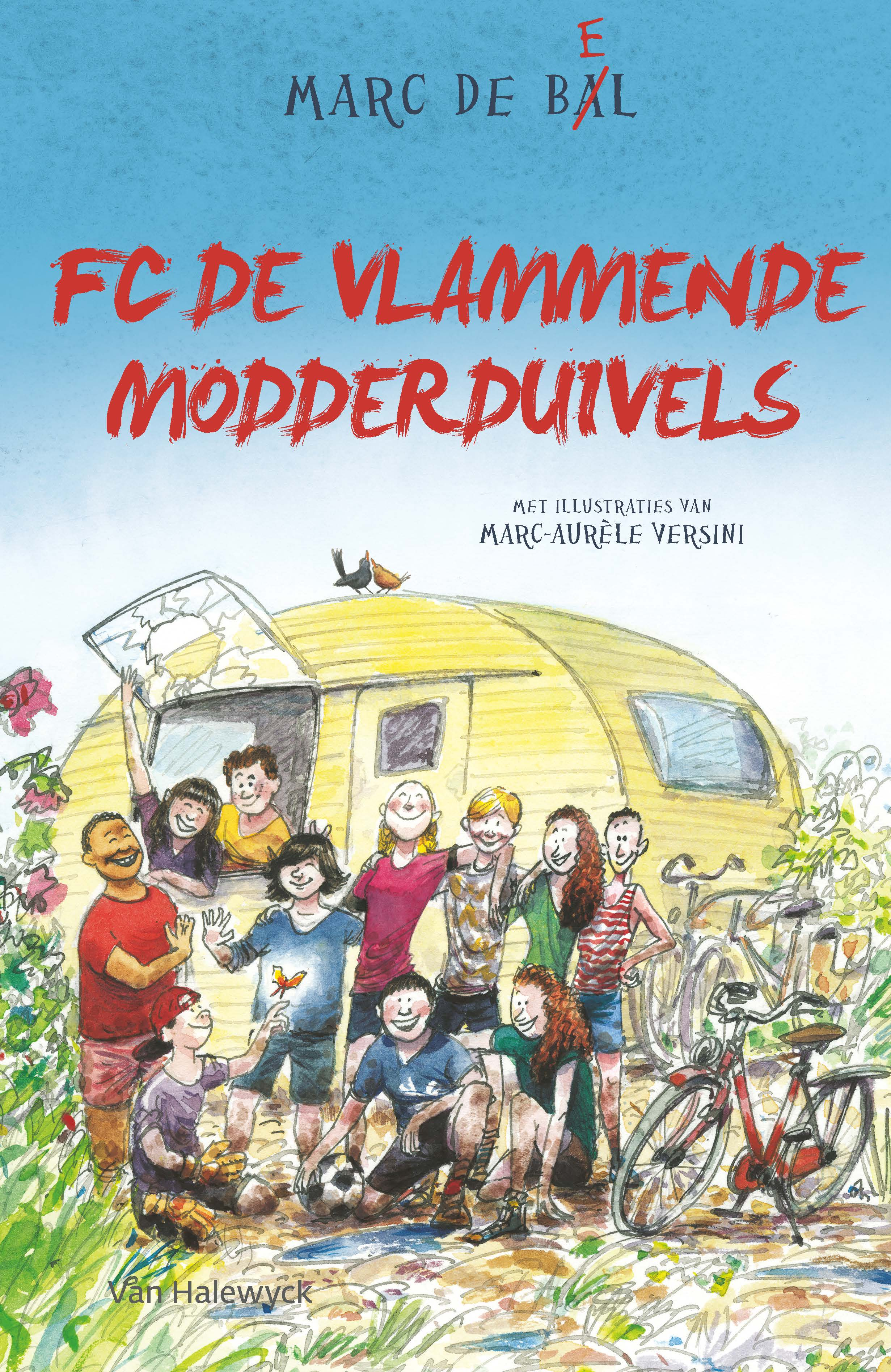 FC De Vlammende Modderduivels - Marc de Bel